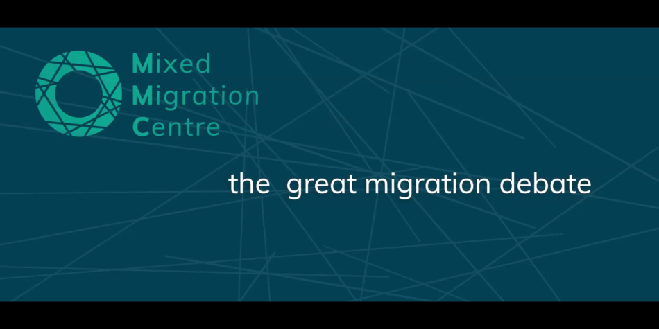 The Mixed Migration Debate: a new movie & upcoming global report by MMC