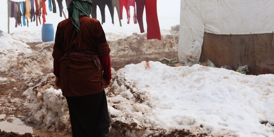 People on the move in the Middle East vulnerable again this winter