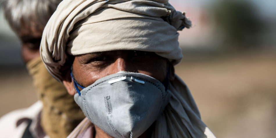 Hot zones – the first global pandemic of the urban migrant district